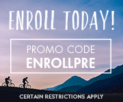 Save with promo code ENROLLPRE